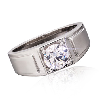 Men's Moissanite Starman Ring