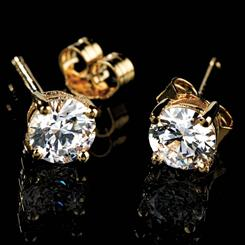 Palisade DiamondAura® Stud Earrings
