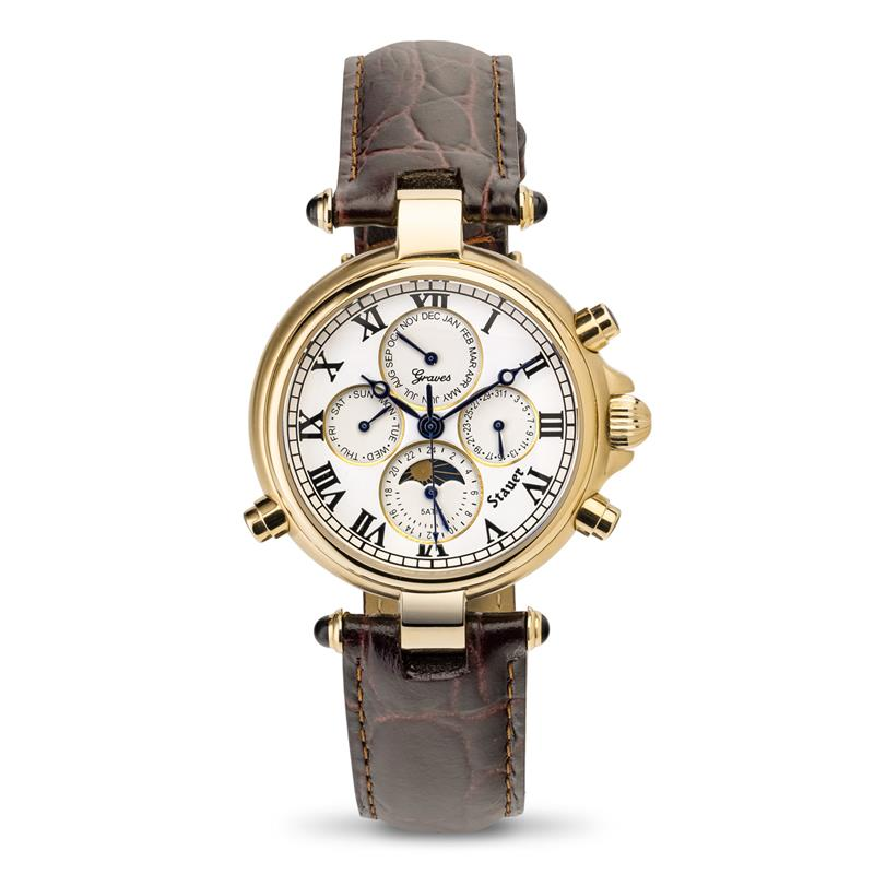 Stauer Gold Finished Graves® '33 Wristwatch