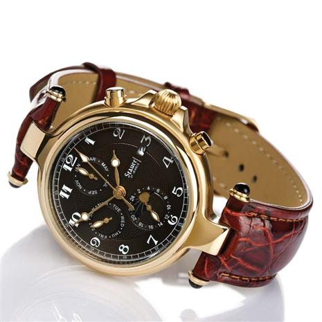 Stauer Noire Watch (gold finished)