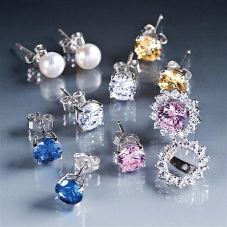 Enchanted Evening Earring Sterling Silver Collection