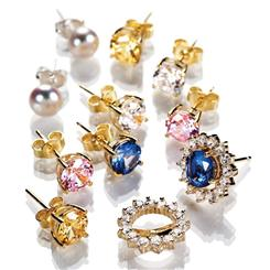 Enchanted Evening Earring Gold Vermeil Collection