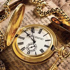 George W. Chatterton™ Lincoln Pocket Watch