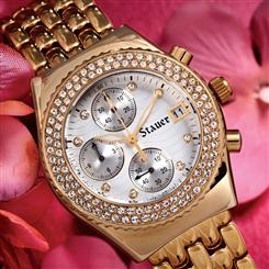 Stauer Ladies DiamondAura® Brillante Timepiece