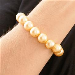 Australian Pacific Golden 12mm Bracelet
