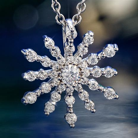 DiamondAura® Star Pendant