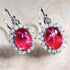 Aster Scienza® Ruby Earrings