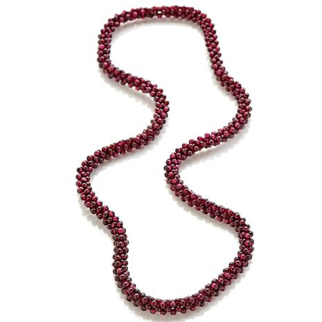 Garnet Garland Necklace