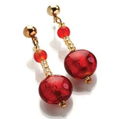 Murano Glass Artisan Earrings
