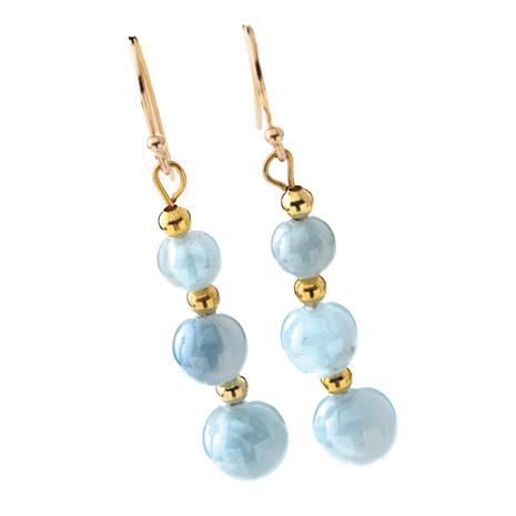 Maré Aquamarine Earrings