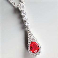 Regalia Scienza® Ruby & DiamondAura® Necklace