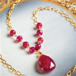Forever Ruby Necklace
