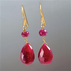 Forever Ruby Earrings