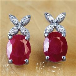 Reverie Ruby Earrings