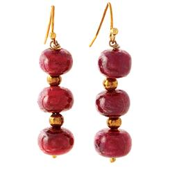 Romantica Ruby Earrings