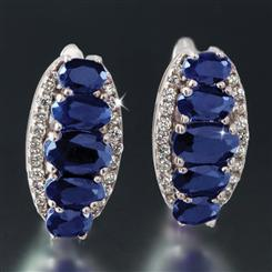 Amoris Sapphire Earrings