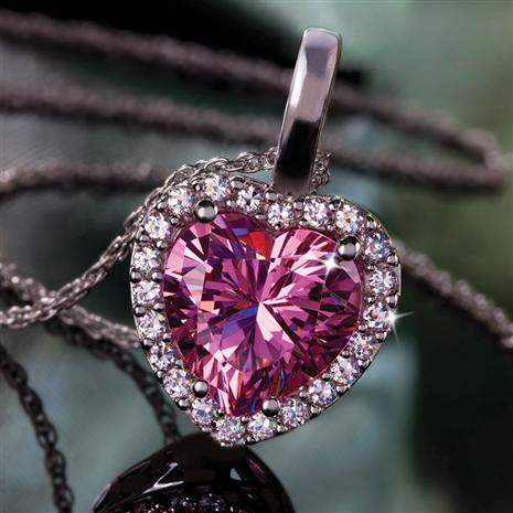 DiamondAura® Pure Heart Pendant