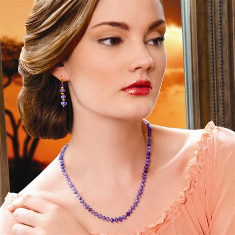 Merelani Tanzanite  Necklace & Free Earrings