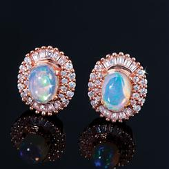 Bareeda Opal Earrings