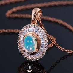 Bareeda Opal Necklace