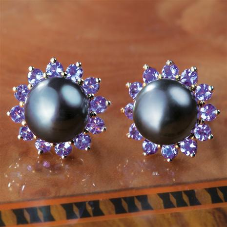 Exotique Tahitian Pearl Earrings