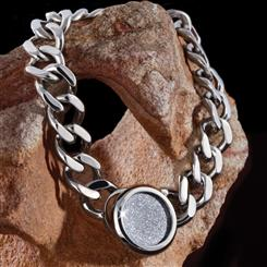 Diamond Fusion Mens Bracelet
