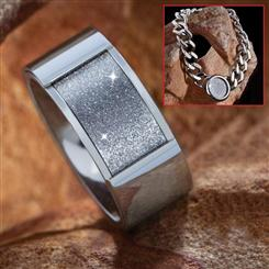 Diamond Fusion Ring & Bracelet