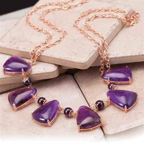 Kleos Amethyst Necklace