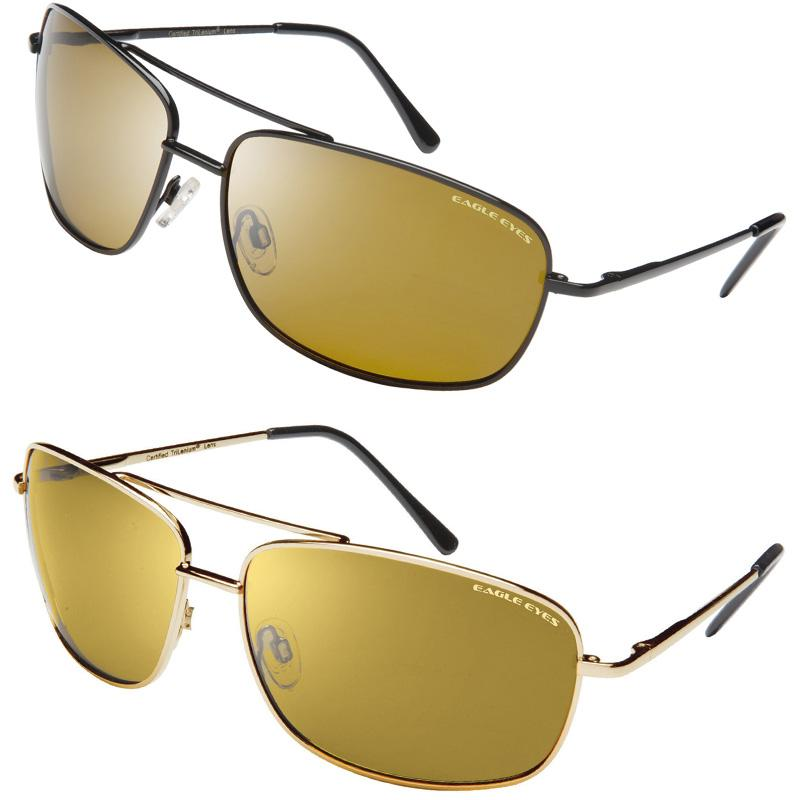 ea23f2b944790 Eagle Eyes Navigator Black Sunglasses   FREE Navigator Gold Sunglasses
