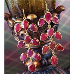Kuvera Ruby Earrings