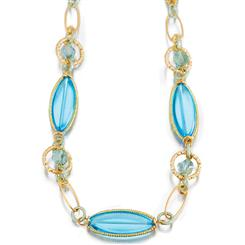 Azzurro Murano Glass Necklace