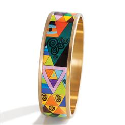 M Collection Bangle - Mosaic Bangle