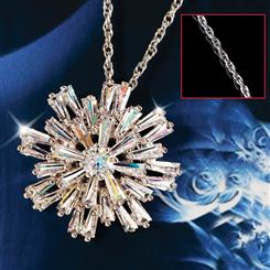 DiamondAura® Starry Night Pendant & Chain Set