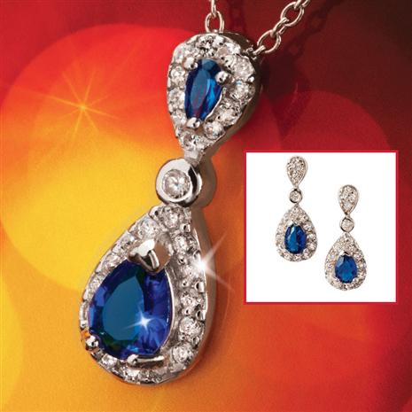 Cheswick Pendant & Earring Set
