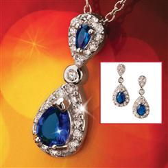 Cheswick Pendant & Earrings Set
