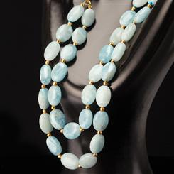 Cabo Aquamarine Necklace