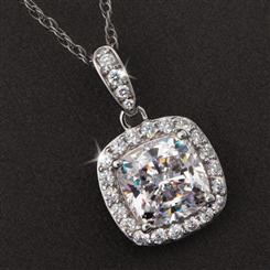 Diamond<em>Aura</em>&reg; Infinity Necklace