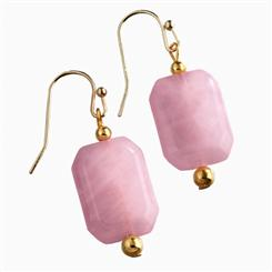 Bavarian Rose Quartz Earrings