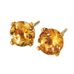 Suncrest Citrine Earrings