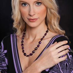 Lusso Amethyst Necklace