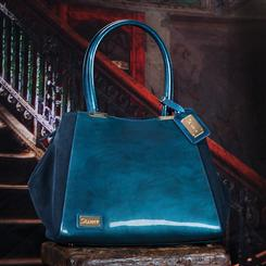 Stauer Basque Blue Handbag