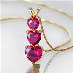 Heart Scienza® Ruby Pendant