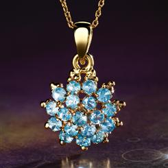 Blue Hyacinth Pendant