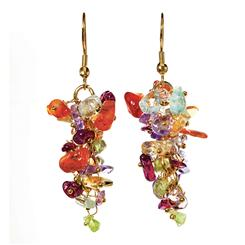 Gemstone Fiesta Earrings