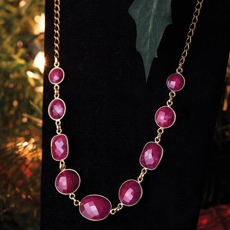 Romancing the Ruby Necklace