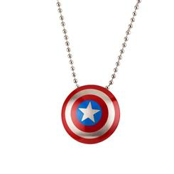 "Captain America 22"" Necklace"