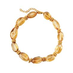 Golden Hour Citrine Bracelet