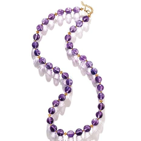 Royal Amethyst Necklace