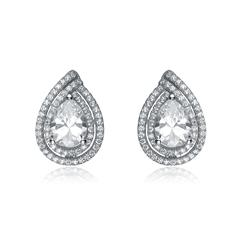 Diamond<em>Aura</em>&reg; Anjou Earrings