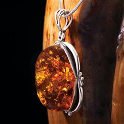 Amber Timelock Pendant
